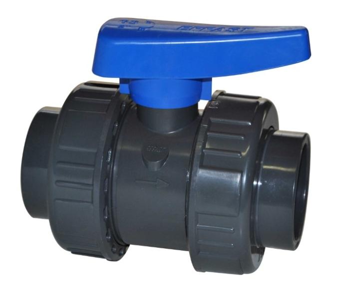 Valvola a sfera PVC-U per acqua